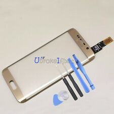 Gold Touch Screen Panel Digitizer Replacement For Samsung Galaxy S6 edge G925T/A