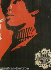 Obey Giant Shepard Fairey Art Poster Print Street Art Graffiti Black Power War