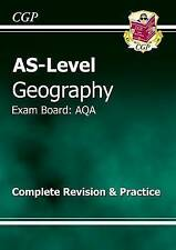 AS Level Geography AQA Revision Guide, CGP Book