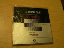 "Maxell XLI 35-180B 10.5"" NAB Metal Reel - back coated - New conditions"