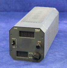 RCA AVQ-85 DME Distance/GS indicator P/N:MI-585017-4 SVC. with yellow tag
