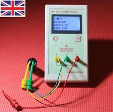 Transistor Portátil MK328 LCR ESR tester inductancia medidor de capacitancia resistencia