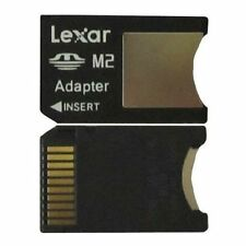 Lexar MS M2 TO MEMORY STICK PRO DUO ADAPTER For Sony 1GB 2GB 4GB 8GB 16GB