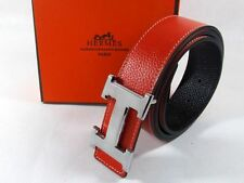 Imported Luxury Leather Classic Red and Balck Reversible Belt for men