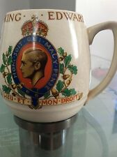 Coronation King Edward VIII 1937  Coffee Mug Myott, England
