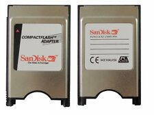SanDisk PC Adapter CF To PCMCIA Adapter Compact Flash ATA PC Card F. CNC Fanuc