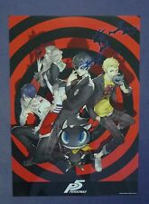 PERSONA 5 P5 Plastic Poster 4 Exclusive Super Rare NEW!