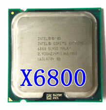 Intel Core 2 Extreme X6800  SL9S5 CPU 2.93 GHz LGA 775 1066 MHz processor