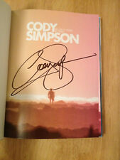 SIGNED Welcome To Paradise: My Journey by Cody Simpson  HC 1/1