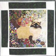 Rocky Rag Doll cat quilt pattern by Whims Watercolor
