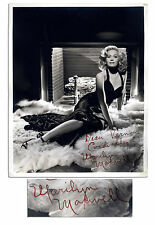 1940's Siren Marilyn Maxwell 8'' x 10'' Sexy Signed Photo
