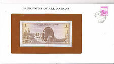 FRANKLINS BANKNOTES OF ALL NATIONS SYRIA 1 P95d 1978 UNC