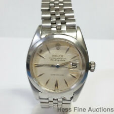 Scarce Rolex Air King Date Arrow Dial 5700 Super Precision 1530 Watch