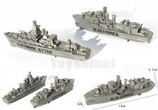 2 pcs Battleship Warship (2 Different Models) Toy Soldier Army Men Accessories