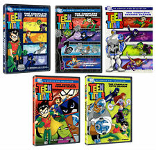 TEEN TITANS Complete Season Series 1 2 3 4 5 DC Comics Collection NEW DVD R4