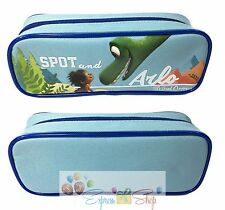 Disney Pixar The Good Dinosaur Spot and Arlo Blue School Pencil Pouch