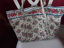 Vera Bradley Miller bag in retired Tea Garden pattern (1993-1995)  (#2)