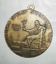Olympische Medaille - STOCKHOLM 1912 - 70 mm / 95 g - Messing  - Replika