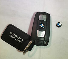 Genuine BMW Alarm Remote Key Fob Replacement Button / Badge / Emblem ONLY BADGE!