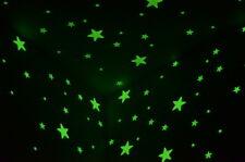 28 STELLE STAR ADESIVE FLUORESCENTI FOSFORESCENTI MATERIALE 3M NON TOSSICHE !!!