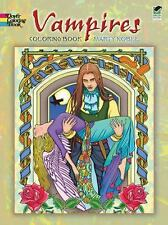 Dover VAMPIRES Adult Coloring Book Marty Noble Fine 2010