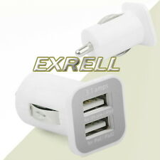 Caricabatteria Caricatore Charger Casa Auto 2 USB per Apple iPhone 5 5S 5C 4 4S