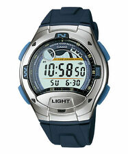 Casio Casual Digital Tide Graph Sports Watch Blue W753-2AV Alarm 100m WR *New