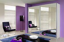 Camera armadio 2 ante scorrevoli biancho con due ante a specchio 271 cm + 3 rip