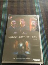 Ghost Adventures - Season 1 (DVD, 2009, 2-Disc Set) RARE OOP NEW