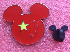 Pins DISNEY Tête de Mickey DRAPEAU Flag CHINE China