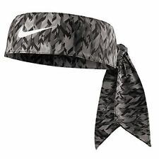 New Women Nike Printed Head Tie 2.0 Headband Tennis Running Basketball Bone Grey