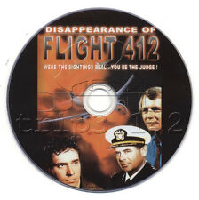 The Disappearance of Flight 412 (1974) Drama, Mystery, Sci-Fi TV Movie on DVD