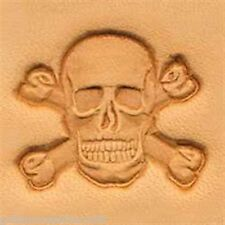 Craftool 3-D Leather Stamp  Skull & Crossbones (8547-00)