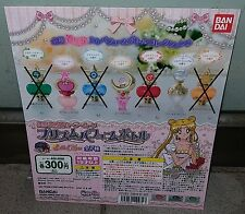 BANDAI Sailor Moon Prism Power Water Perfume Bottle Gashapon New Ver. - Set of 3