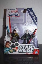 Playskool Star Wars Galactic Heroes Kanan Jarrus & The Inquisitor - Brand New