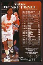 1998-99 Texas Longhorns Basketball Magnet Schedule