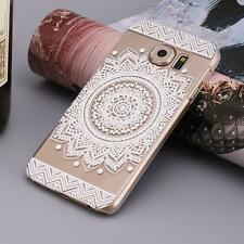 Campanula Mandala Floral Dream Catcher Case Cover for Samsung Galaxy S7 Cheap