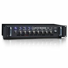 CARVIN B2000 LIGHT MONO BLOCK 2000W BASS AMP AMPLIFIER HEAD BLM