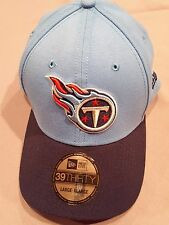 NEW ERA 39 FIFTY NFL TENNESSEE TITANS BLUE LARGE/ XLARGE NEW WITH TAGS