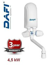 Dafi 4,5 kW Instant Water Heater with White Tap
