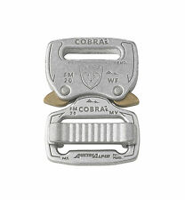 "AustriAlpin Fashion Model 20mm / 0.75"" Chrome Cobra Buckle - FM20AVF"