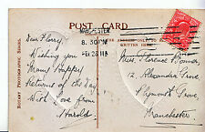 Genealogy Postcard - Family History - Bonner - Plymonth Grove - Manchester U3805