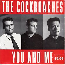 "THE COCKROACHES You And Me PICTURE SLEEVE & 2 x records 7"" 45 rpm vinyl NEW"