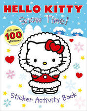 Snow Time! Sticker Activity Book (Hello Kitty) with 100 Stickers