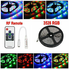 16ft 5M 3528 RGB LED None-Waterproof Light Strip / RF Key Remote / RF Controller