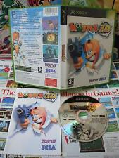 Xbox:Worms 3D [TOP SEGA & 1ERE EDITION] COMPLET - Fr