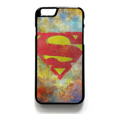 Superman Superhero DC Comics Phone Case Cover For iPhone 5/5s 6/6s iPod Touch