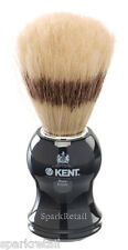 Kent Black Acrylic Pure Boar Bristle Badger Effect Medium SHAVING BRUSH VS60