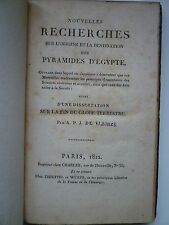 1812 PYRAMIDS Egypt OCCULT Ancient Purpose NUMEROLOGY de Vismes END OF THE WORLD