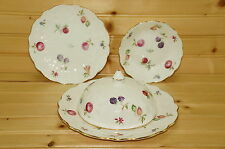 Aynsley Florida- Lid for Muffin Dish-Salad Plate-Bread Plate-Fruit Berry Bowl